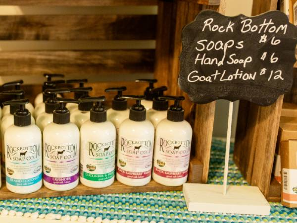 Handmade Goat Milk Soaps and Lotions